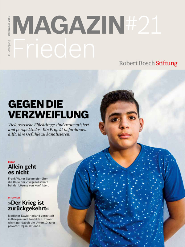 Bosch Publication Magazin Cover Frieden