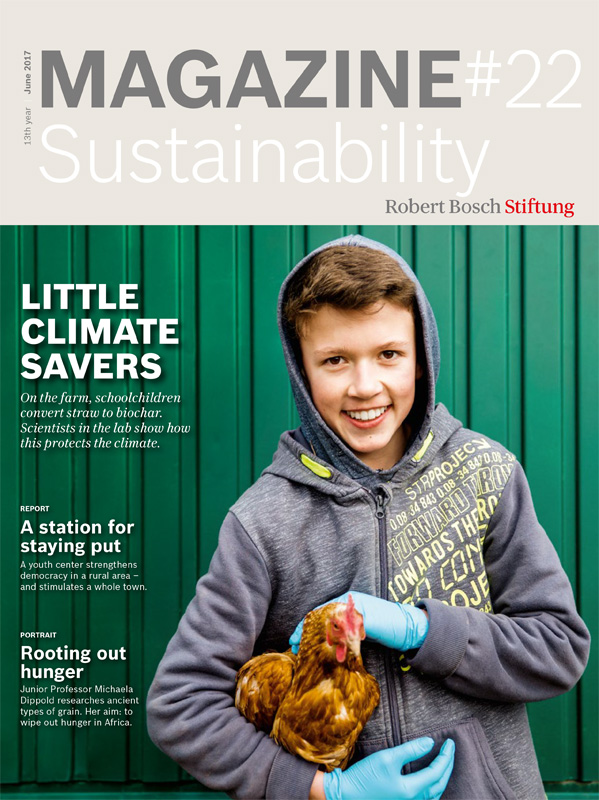 Bosch Publication Magazine Cover Sustainability