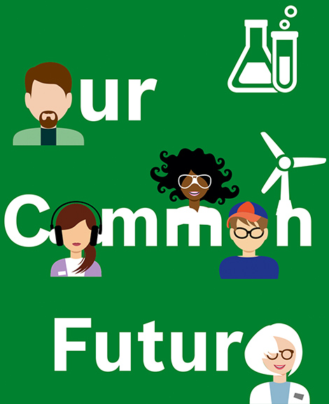 Logo Our Common Future