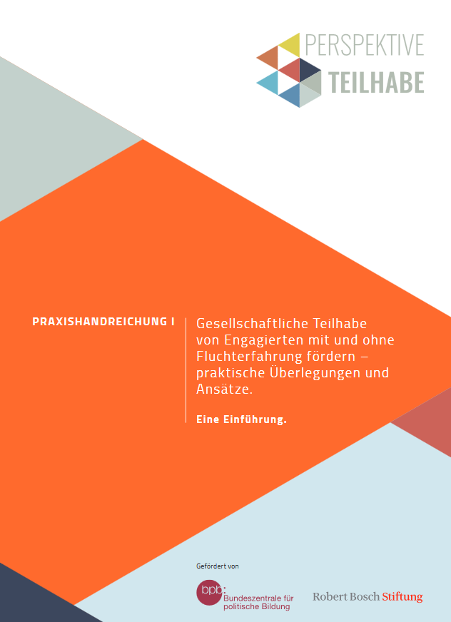 Bosch Publication Perspektive Teilhabe Handreichung 1 - Cover