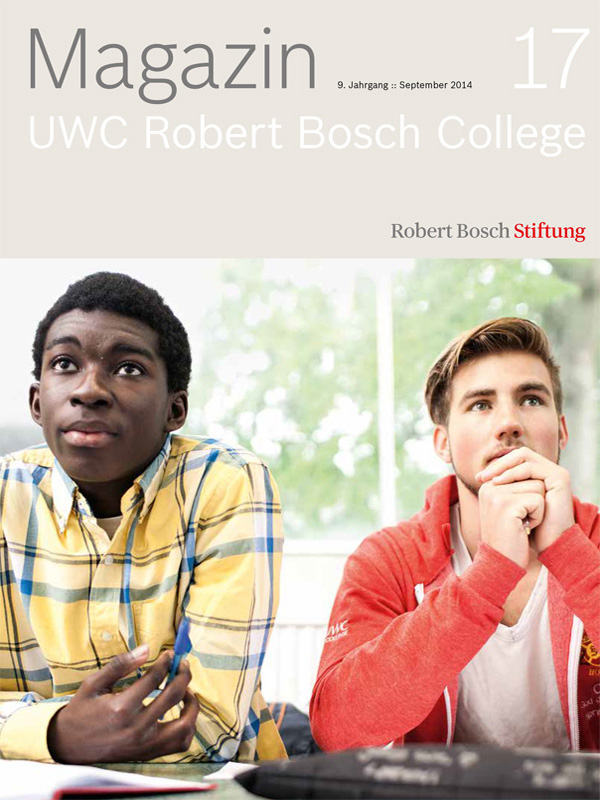 "Bosch Publication Das Magazin ""UWC Robert Bosch College"" (17/2013)"