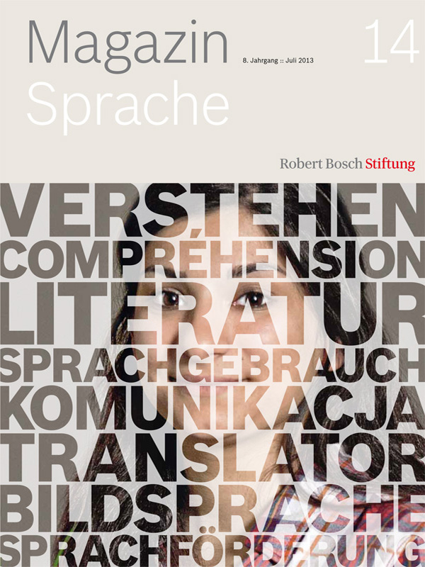"Bosch Publication Das Magazin ""Sprache"" (14/2013)"
