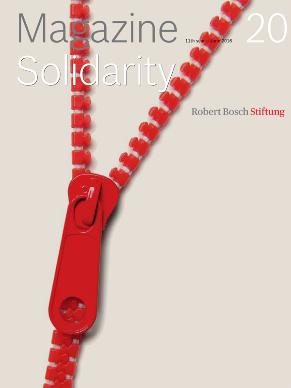 "Bosch Publication The Magazine ""Solidarity"" (20/2016)"