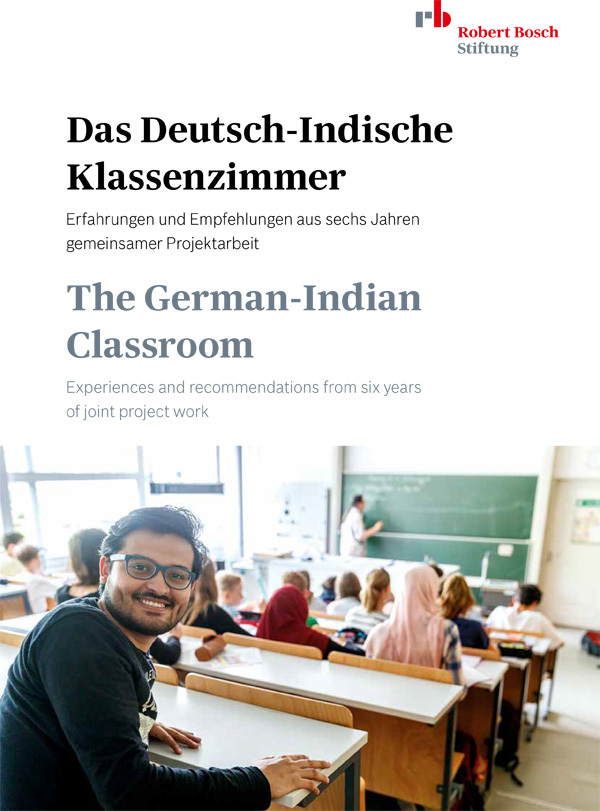 Bosch Publication The German-Indian Classroom: Experiences and recommendations from six years of joint project work