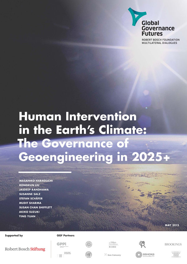 Bosch Publication Human Intervention in the Earth's Climate: The Governance of Geoengineering in 2025+