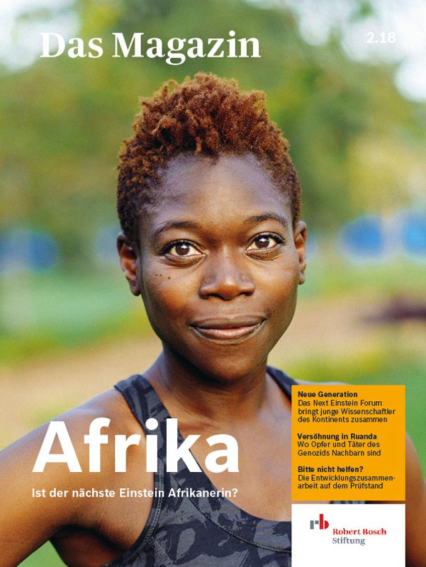 Bosch Publication Cover Magazin Afrika