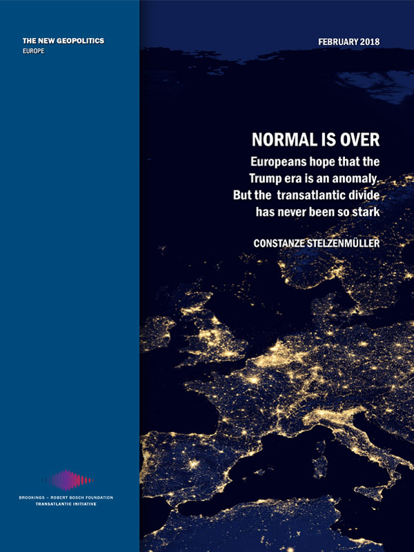 Bosch Publication Normal Is Over