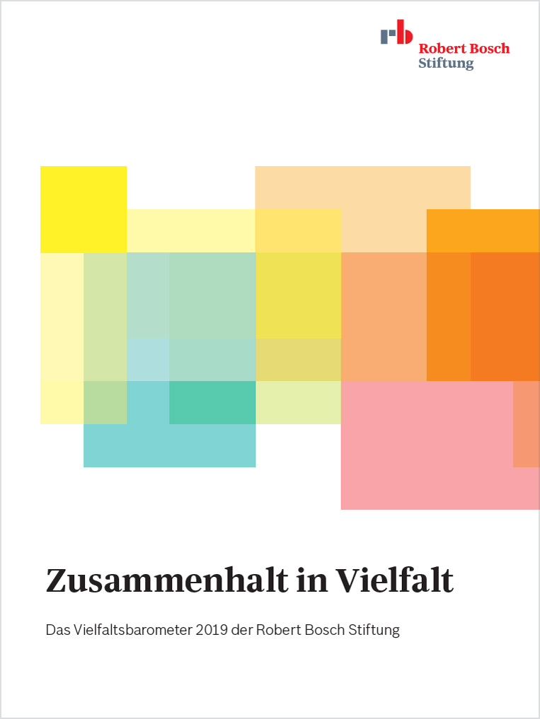 Bosch Publication Cohesion in Diversity: Diversity Barometer of the Robert Bosch Stiftung
