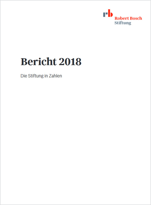 Bosch Publication Bericht 2018