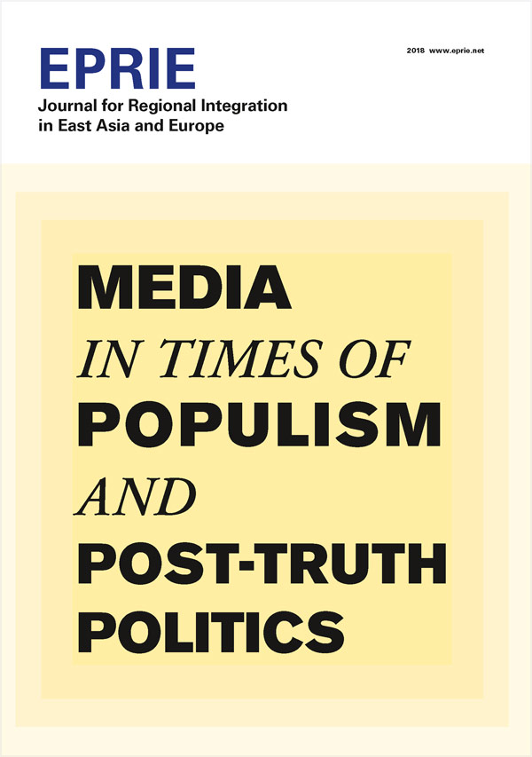 Bosch Publication EPRIE Journal 2018: Media in Times of Populism and Post-Truth Politics