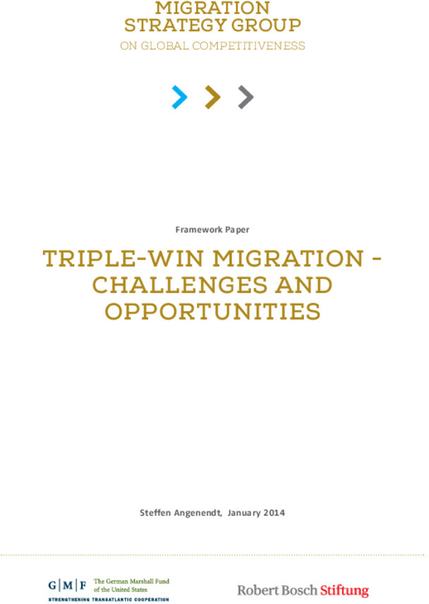 Bosch Publication Triple-Win Migration - Challenges and Opportunities