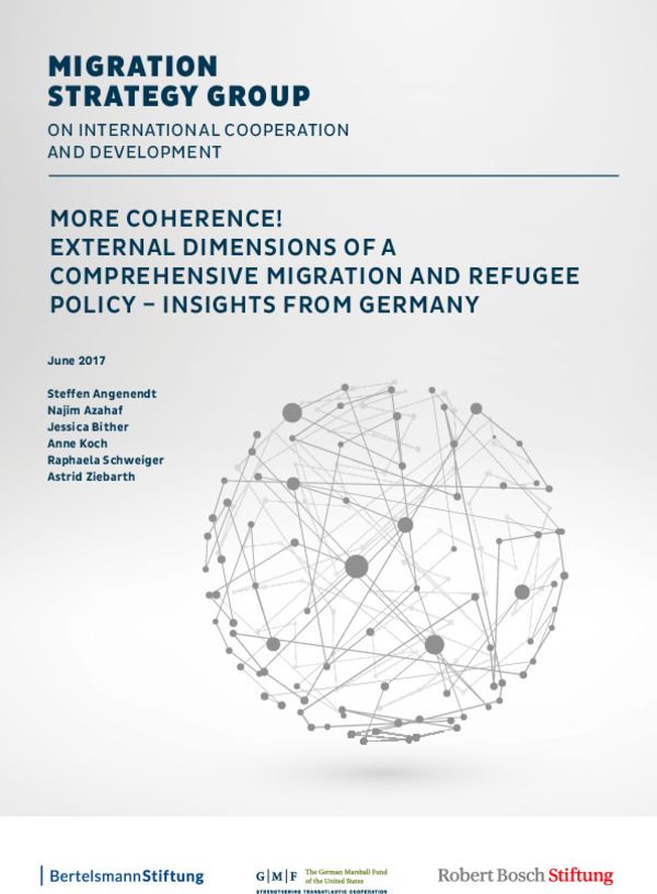 Bosch Publication More Coherence! External Dimensions of a Comprehensive Migration and Refugee Policy - Insights from Germany