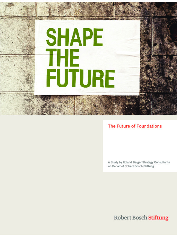 Bosch Publication The Future of Foundations