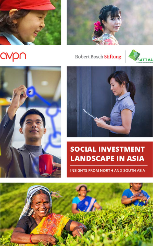 Bosch Publication Social Investment Landscape in Asia - Insights from North and South Asia