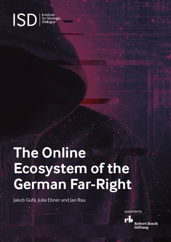 Titelbild der Studie The Online Ecosystem of the German Far-Right