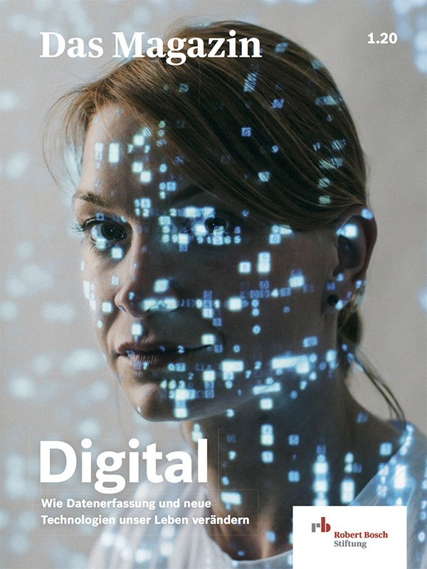 "Titelbild des Magazins ""Digital"""
