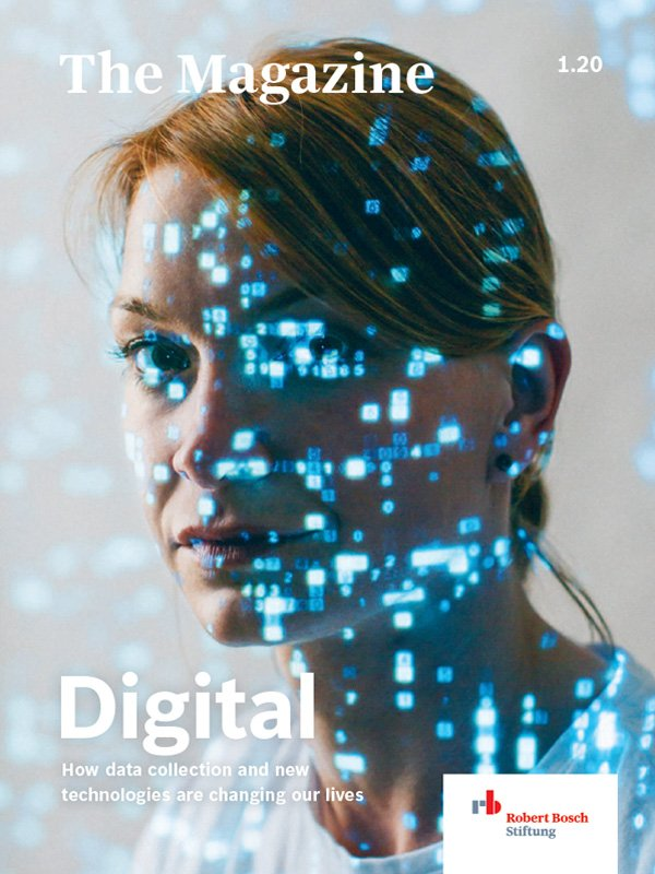 "Cover magazine ""Digital"""
