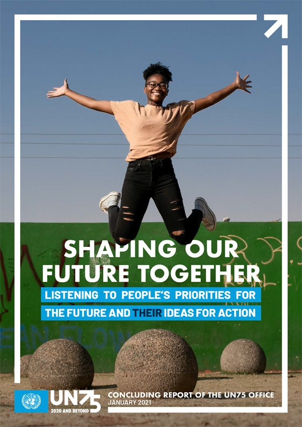 Cover Shaping our future together
